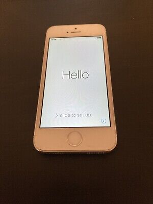 Apple iPhone 5s - 16GB - White / Silver (Unlocked) A1533 Fast Shipping