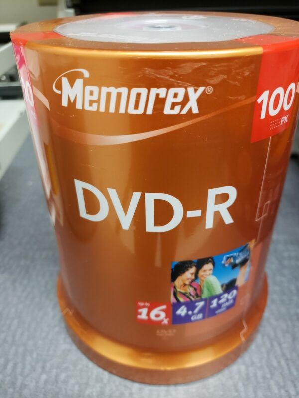 Memorex 100 pack.       16X 4.7GB DVD+R Disc
