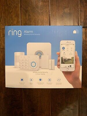 Pc Surveillance Systems - Ring Wireless Home Security System Alarm 5PC - Brand New, Sealed