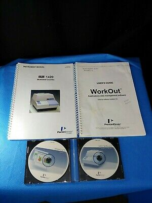 Pe Perkin Elmer Victor 3v Wallac Workout V1.5 1420 Software Cds With Manuals