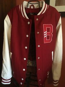 "College jacket ""Used"" brand with B - Vintage style Beeliar Cockburn Area Preview"
