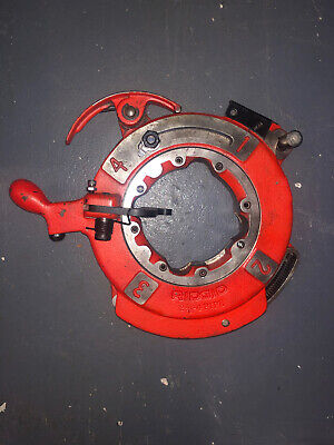 Ridgid Model 714 Die Head For 1224 Machine Self Oiling And Opening Threader