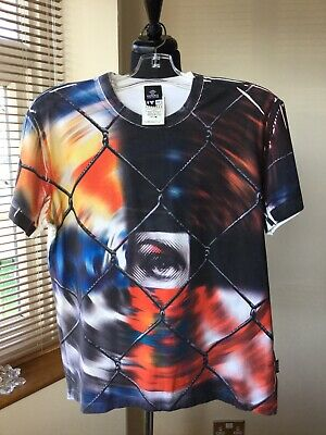 Versace Men's T-Shirt Size Large Colour Black/White Eye