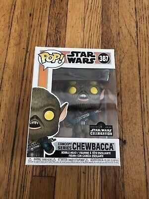 Funko Pop Star Wars Concept Series Chewbacca #387