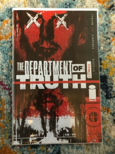 Department of Truth 1 NM fifth print SECRET Variant Lee Harvey Oswald 2021 5th