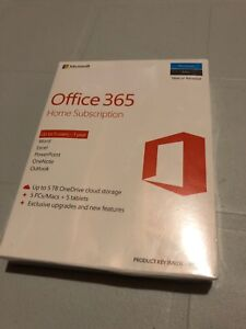 Microsoft Office 365 Home Subscription - 1 year (5 users)
