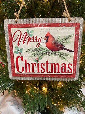 Cardinal Christmas Ornament (New Kurt Adler 5