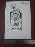Zhou Enlai China Chinese Communist Mao Pen & Ink Orig 20th C Illus,bill Hewison, -  - ebay.co.uk