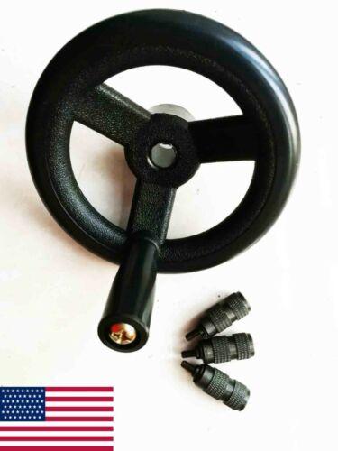 MILL PART, J Head Milling Machine Fine Feed Handwheel + Feed Reverse Knob