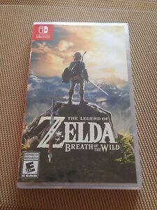 Nintendo switch. Zelda breath of the wild sealed