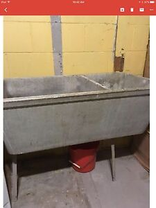 Concrete Laundry Tub...