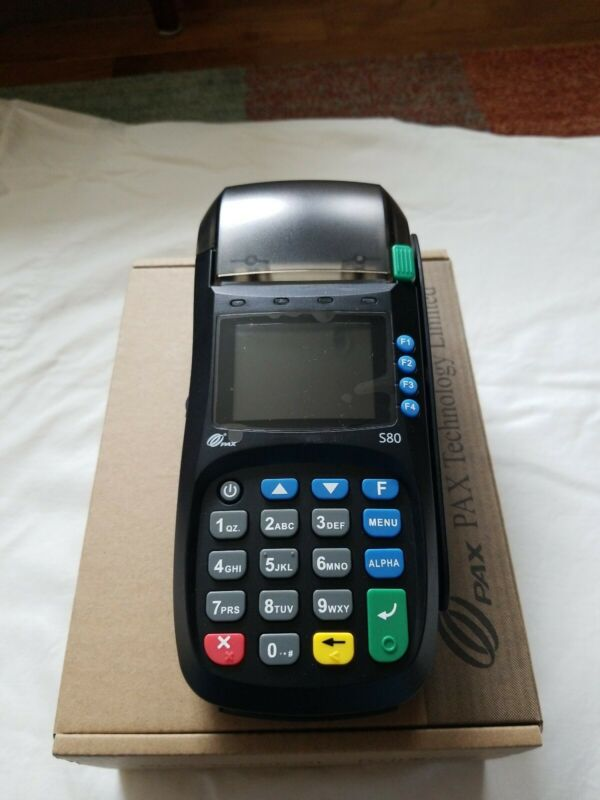 PAX S80 CREDIT CARD TERMINAL ***Brand New ***