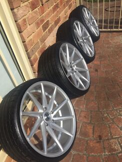 20 inch staggered DTM WHEELS VF VE SS SSV BMW HSV R8 Auburn Auburn Area Preview