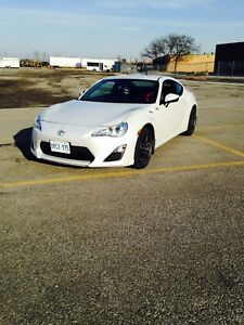 Scion FR-S Pearl White Coupe