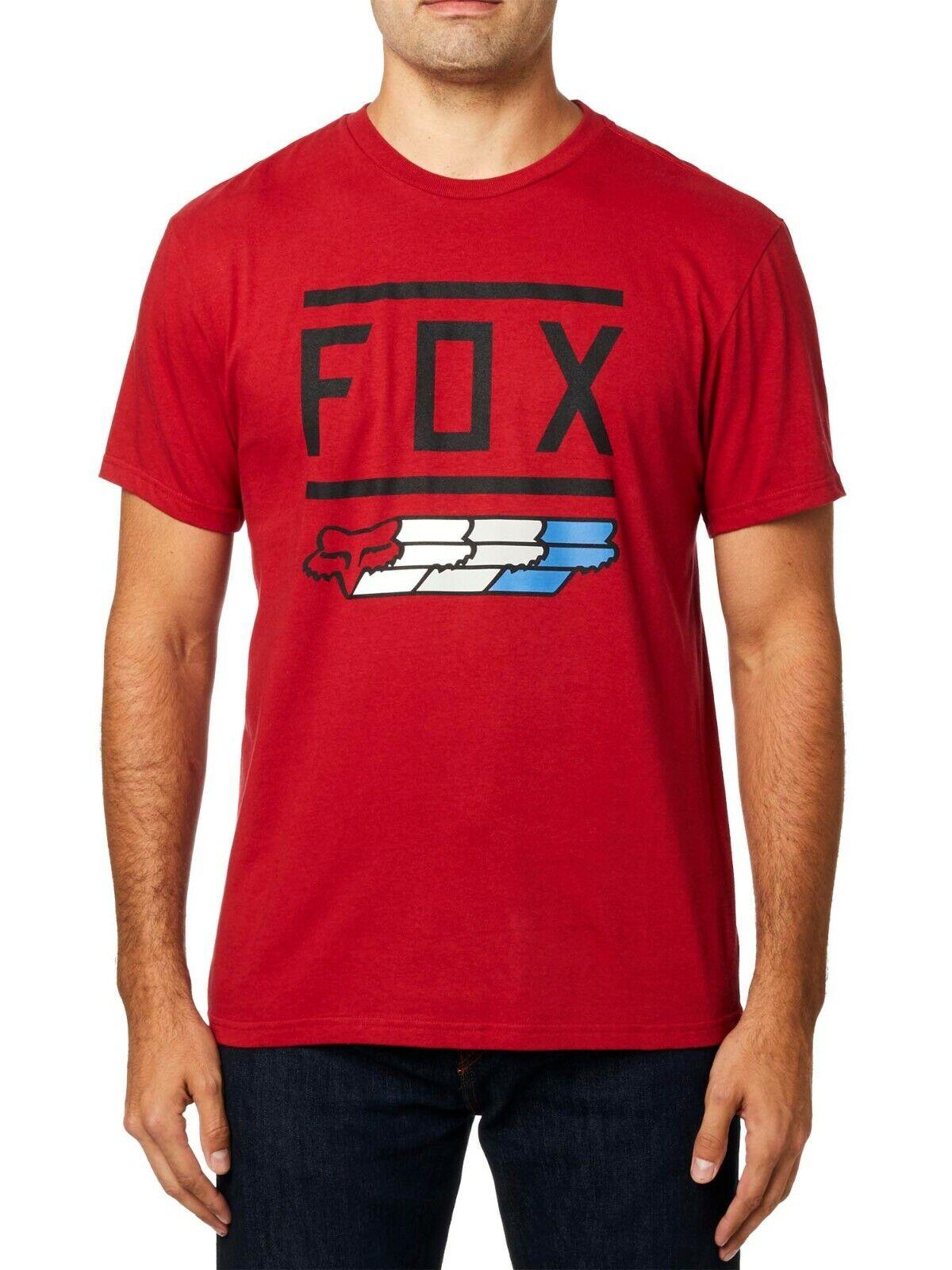 Fox Racing Men's Fox Super Short Sleeve T-shirt Foxhead Moto