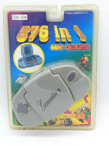 576 in 1 Hand Held Electronic Game Generation 3 NEW SEALED