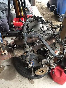 2001 Acura MDX engine w/ harness,ecu and exhaust