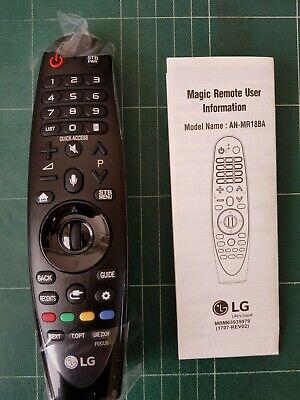 Genuine Original LG AN-MR18BA Magic Remote Control for LG TVs (2018 Model)