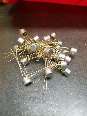 20 X  Ti Texas Instruments 2n1309 Vintage Transistor