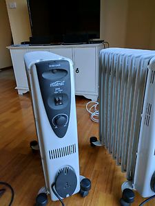 Mistral 2000W 9 fin oil heater x 2 Altona Meadows Hobsons Bay Area Preview