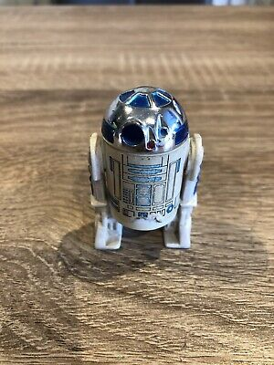 Vintage Star Wars R2-D2 Solid Dome Version Hong Kong 1977 Very Rare Figure