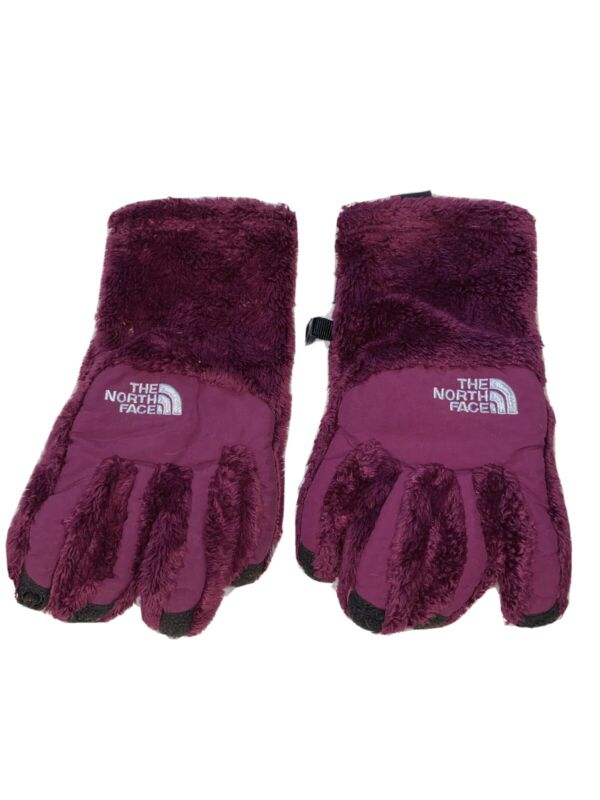 The North Face Girls Purple Gloves Sz L