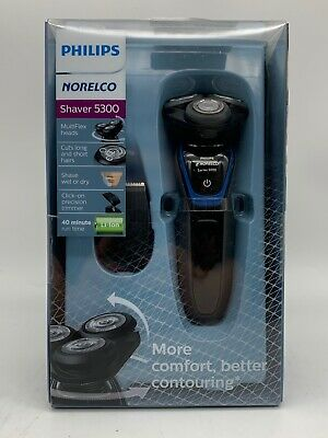 NEW Philips Norelco Wet/Dry Shaver 5300 w/ MultiFlex Heads S5203/81