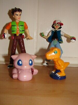 pokemon ash & brock figures with freebies
