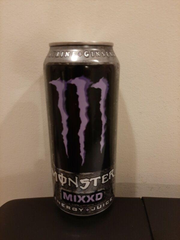 New ! Monster Energy Can Mixxd Rare Full 16 FL Oz
