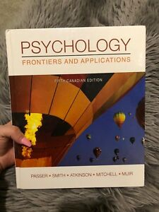 Psychology: Frontiers & Applications Textbook