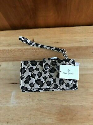 "Vera Bradley Smartphone Wristlet for iPhone 6 ""Leopard"" NWT MSRP"