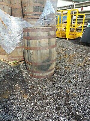 Vintage Oak Whisky Wooden Barrel For Outdoor Garden