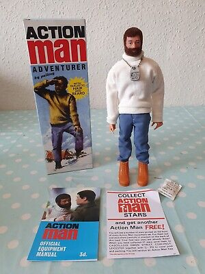 VINTAGE ACTION MAN 40TH ANNIVERSARY Adventurer NEW, BOXED