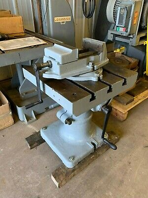 20 Rotary Tilt And Turn Table With Palmgren Vise - Lot 1057