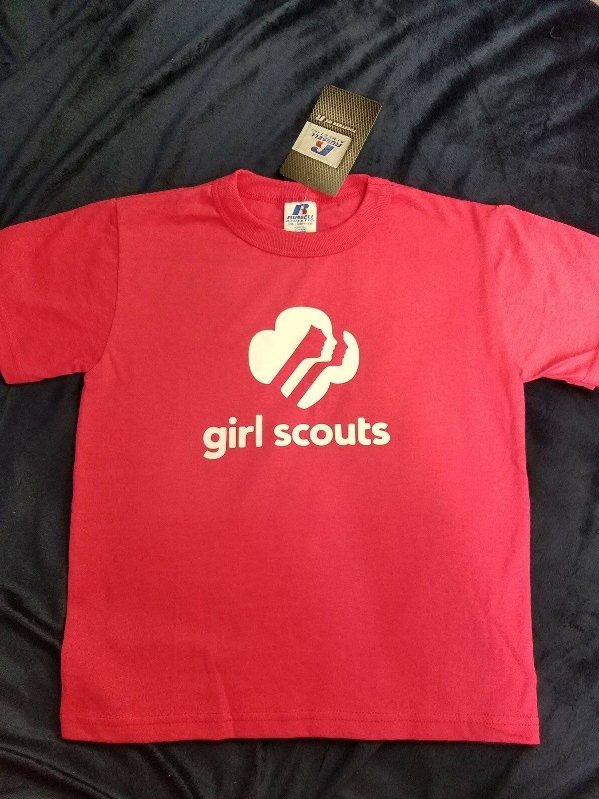 Girl Scout t-shirt Russell Athletic youth XS, S, M, L pick c