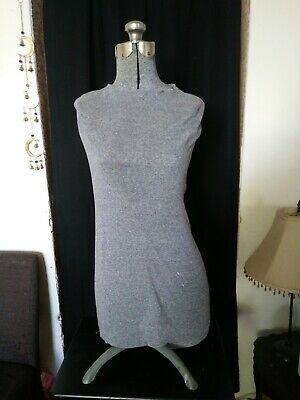 Vintage Adjustable Dress Form Mannequin- Female Torso 1950-1960
