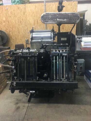 Heidelberg 10 x 15 Windmill - Letterpress and Die Cutting - Serial #39666E