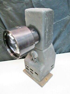 Jones Lamson Mercury Arc Projection Lamp Unit For Fc14 Optical Comparator