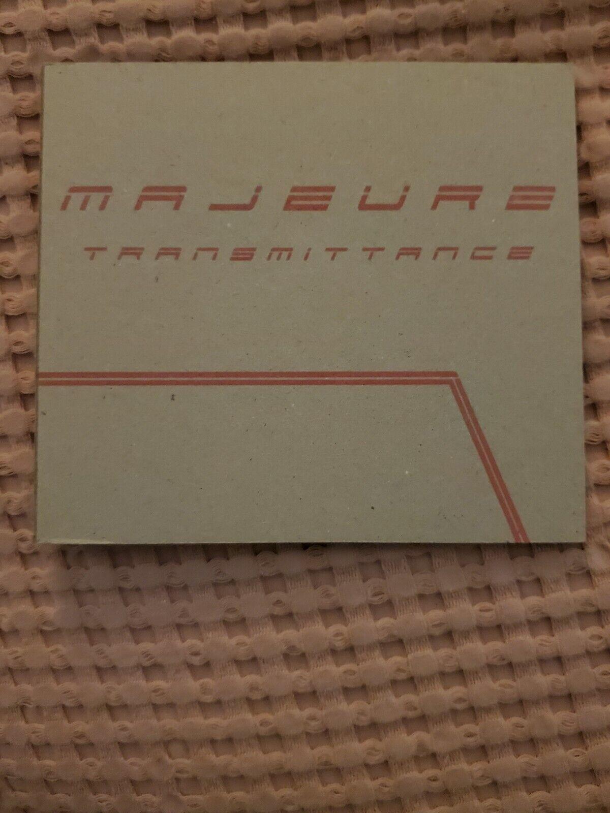 Majeure- Transmittance- CD- Prog Rock- Zombi- Live- OOP RARE- 120 Of 200 - $15.00