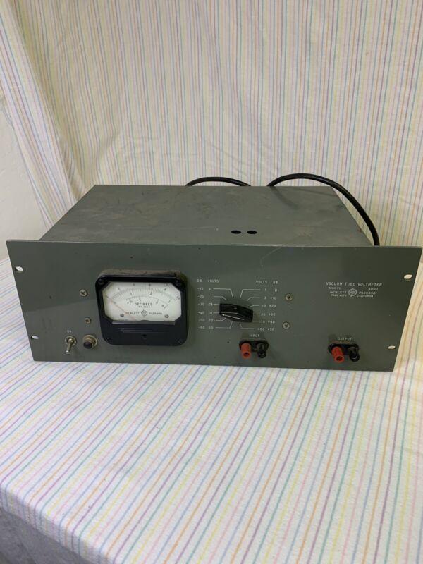 HEWLETT PACKARD (HP) 400HR Vacuum Tube Voltmeter, Working Condition