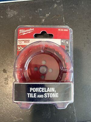 New Milwaukee 49-56-5660 2-12 Diamond Plus Tile Stone Hole Saw Bit