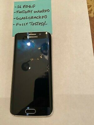 Samsung S6 Edge Black 32GB Verizon