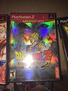 Dragon ball Z, Naruto and YuGiOh ps2