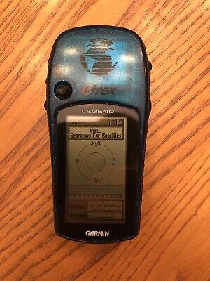 Garmin eTrex Legend Handheld Used. Tested. Works.