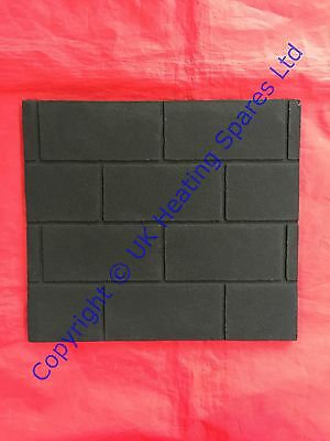 Used, B&Q Anthem Model 746 & 747 Gas Fire Decorative Back Brick 5111504 0579139 for sale  Shipping to United States