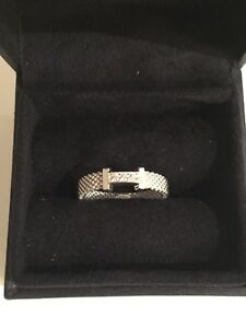Tiffany Somerset Ring with Diamonds Size 6