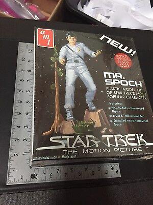 1979 Star Trek Mr. Spock Plastic Model Kit