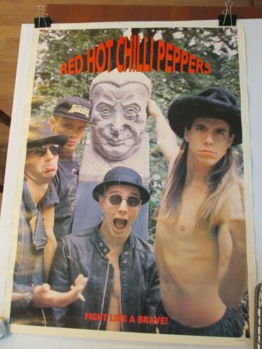 Red Hot Chilli Peppers Fight Like a Brave Poster
