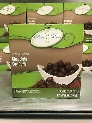 Ideal Protein Chocolate Puffs ~ 15G Protein ~ 7 Packs ~ Exp 2/2021