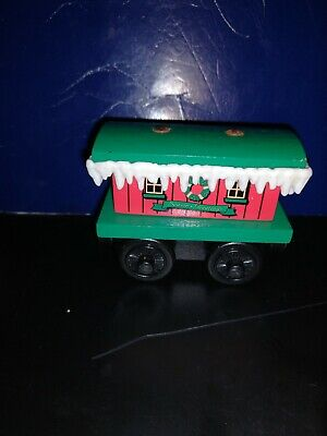 Thomas the Train Wooden Winter Caboose Nice